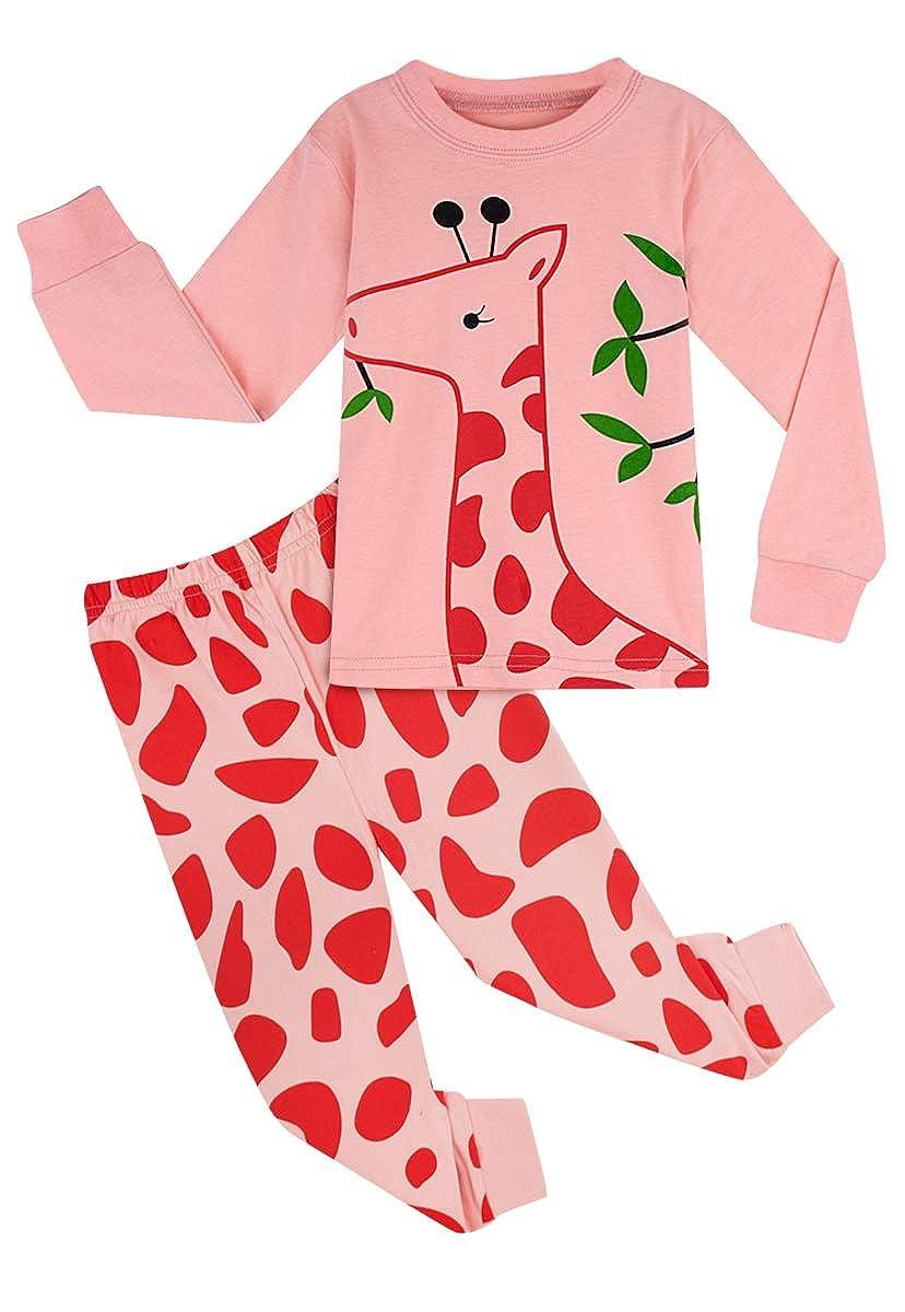 MOMBEBE COSLAND Ensembles de Pyjama Enfant Fille V/êtements De Nuit