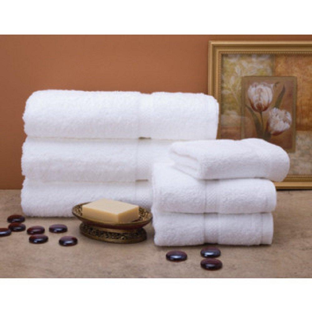 Bella Kline Premium Washcloth Soft 100/% Cotton Luxury Hotel Face Towels 8PK