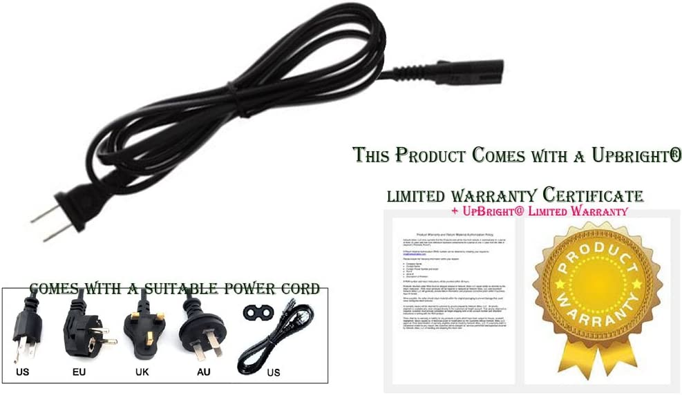 Power Cord Cable Charger for Sony Xplode Boom Box CFD-G700CP