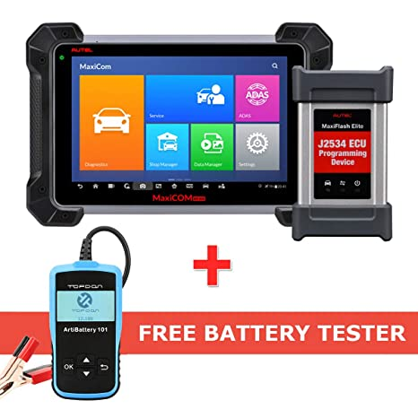 Autel Maxisys Pro MK908P(MS908P/MS908SP) OBD2 Diagnostic Scanner With ECU  coding,Active Test, J2534 Reprogramming (Same function as Maxisys