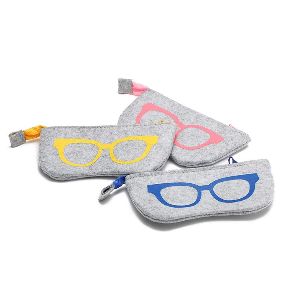 omufipw Portable /à Capuche Doux Cas Eyesglasses bo/îte Maquillage Sac /à Main Sac