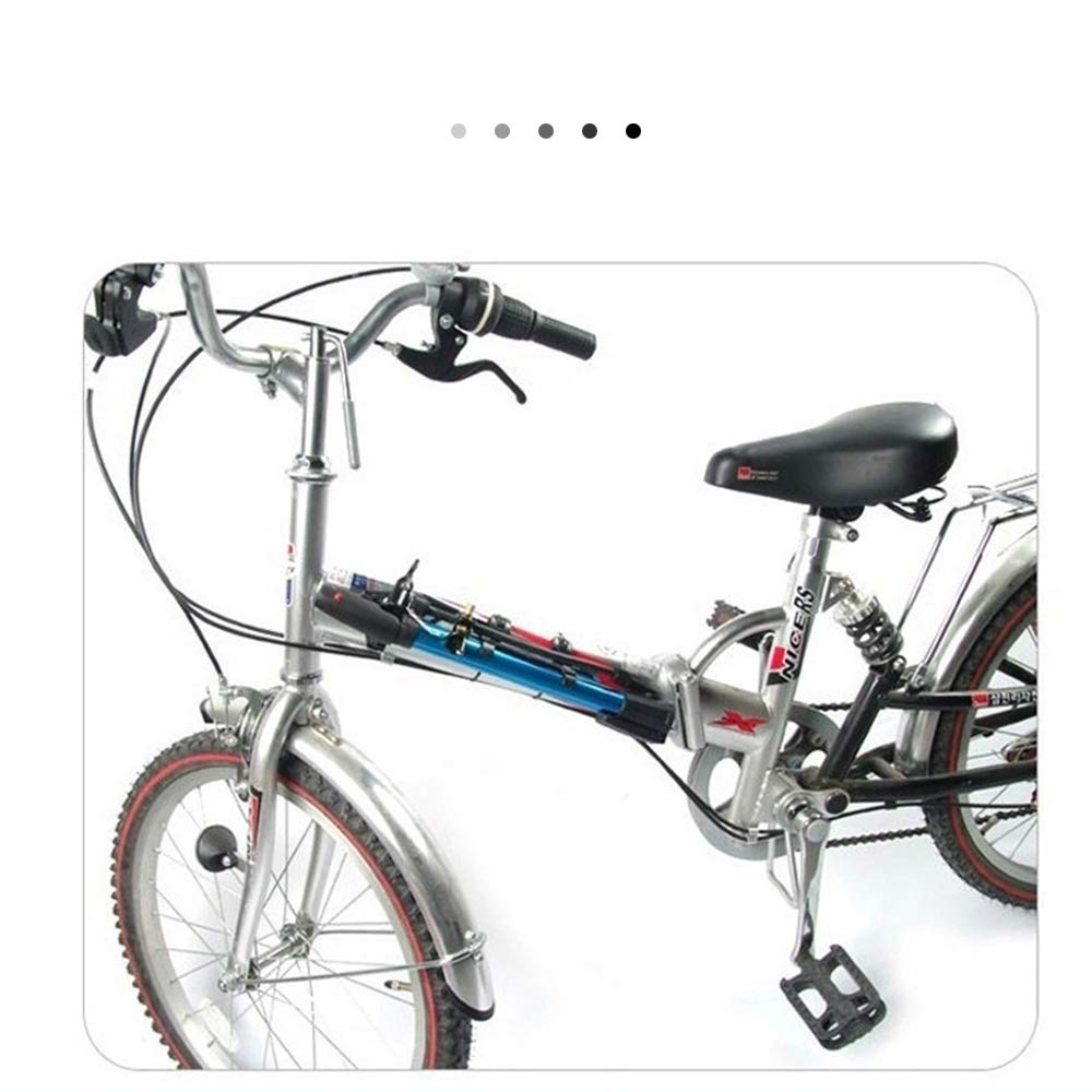 Amazon.com: NWHEBET Bomba portátil para bicicleta, mini ...