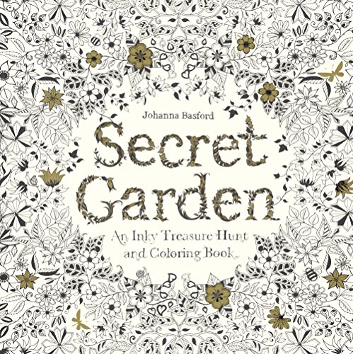 (Secret Garden: An Inky Treasure Hunt And Coloring Book (Turtleback School & Library Binding)