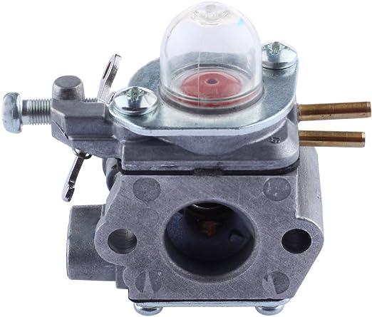 Amazon.com: HIPA wt973 carburador con línea de combustible ...