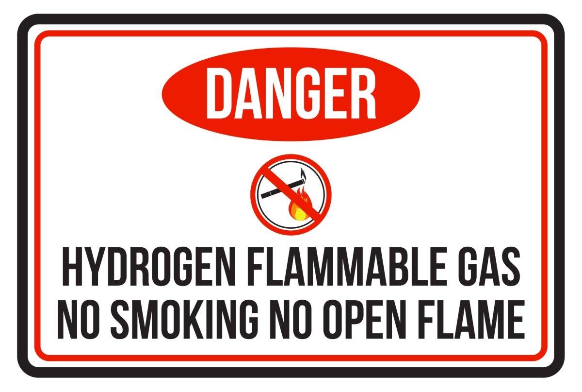 Amazon.com: Peligro gas inflamable NO fumar sin llama ...