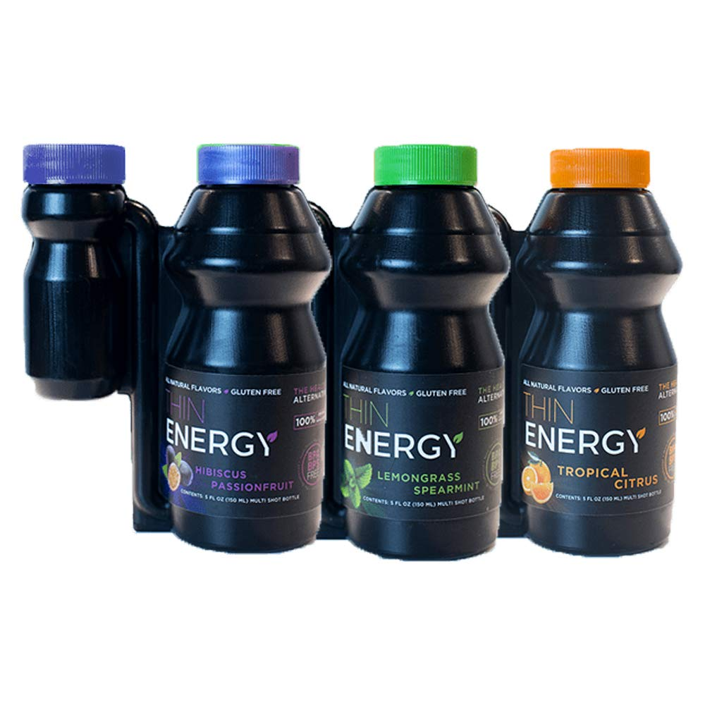 Energy Shot by Thin Energy (15 Serving) Extra Strength Energy Booster - Vitamin B12, Caffeine, Green Tea, Green Coffee, Acai Berry, Garcinia Cambogia - Sugar Free - Hours of Energy - Crash Free