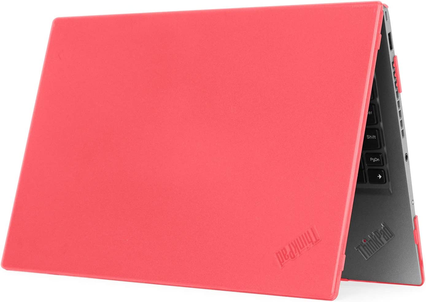 """mCover Hard Shell Case for 14"""" Lenovo ThinkPad X1 Carbon (5th Gen & 6th Gen) Laptop (X1-Carbon-6G RED)"""