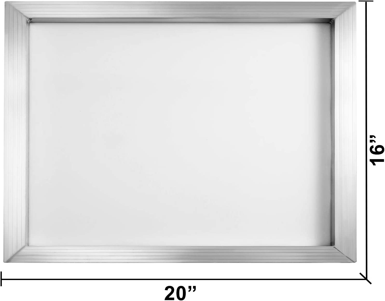 VEVOR Silk Screen Frame 12 Pieces Aluminum Silk Screen Frame 8x10 Inch Silk Screen Printing Frame with White 110 Count Mesh