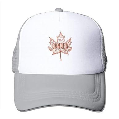 b9efb3d32 Canada Maple Leaf Mesh Baseball Cap Unisex Adult Adjustable Golf ...