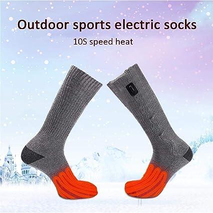 USB eléctrica – Calcetines térmicos chauffées a pilas pies calefacción calderas patas trasera Zone de ambiente