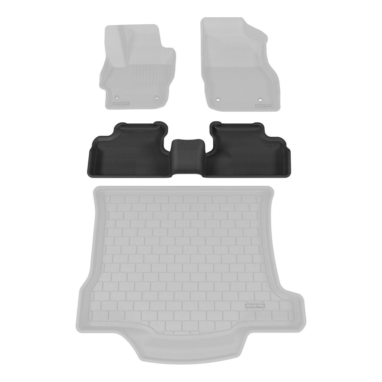 1 Piece Aries MZ01321509 Black Rear 3D Floor Liner