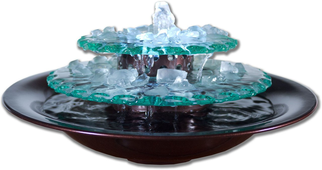 Water Wonders Moonlight Tabletop Water Fountain by Water Wonders