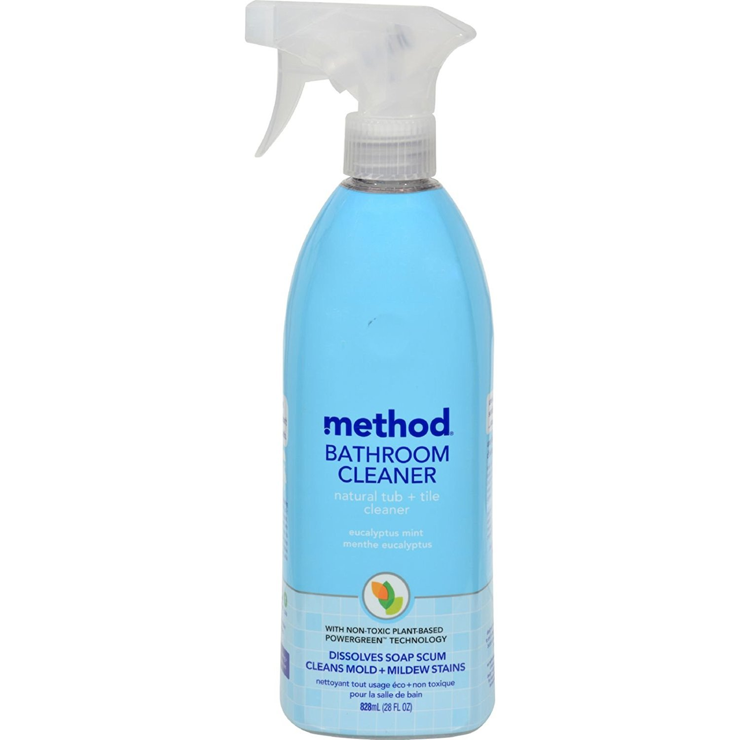 Amazon.com: Method Natural Tub U0026 Tile Bathroom Cleaner   Eucalyptus Mint    28 Oz: Home U0026 Kitchen