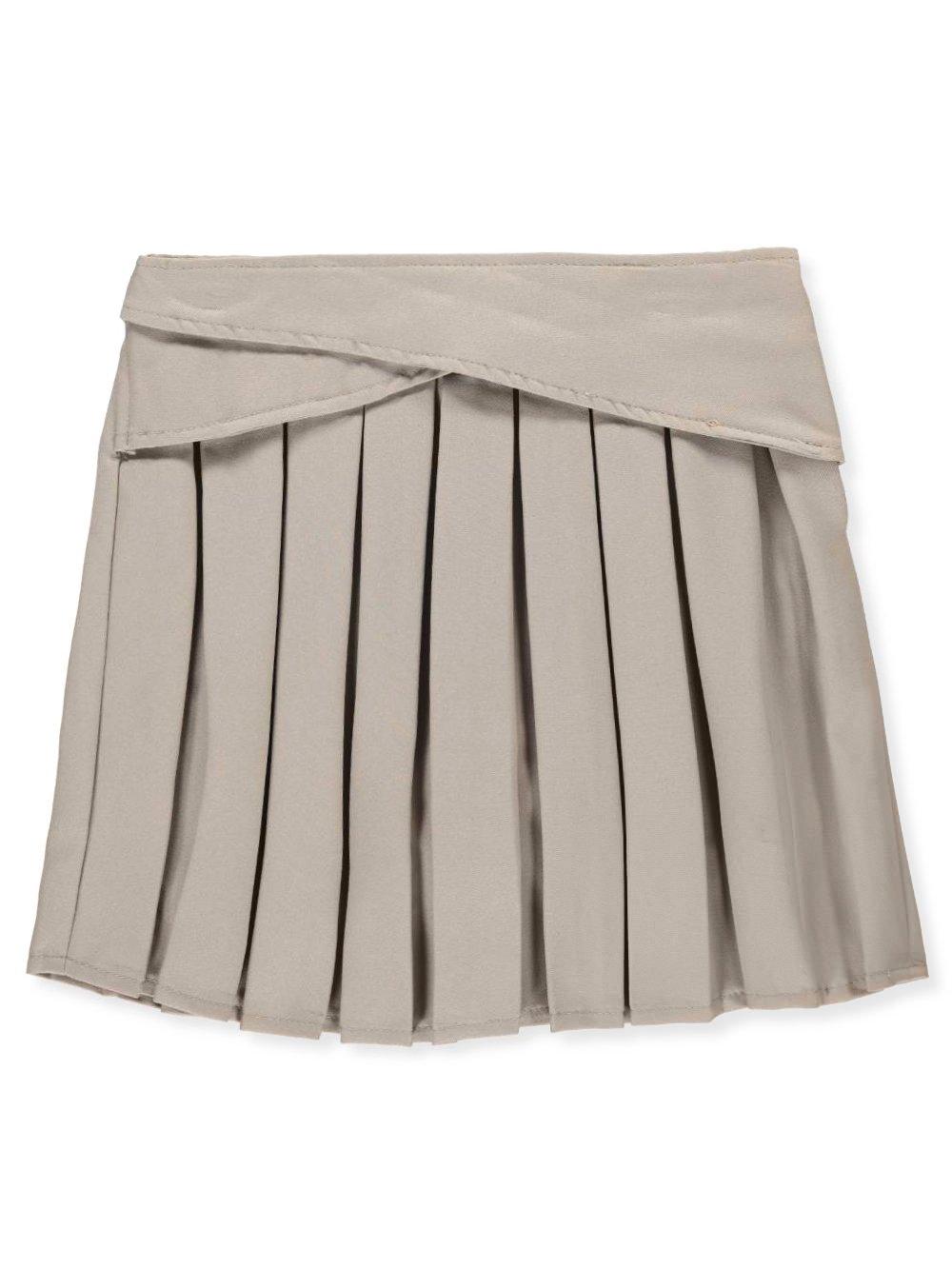 U.S. Polo Assn.. Big Girls' Scooter Skirt - Khaki, 7