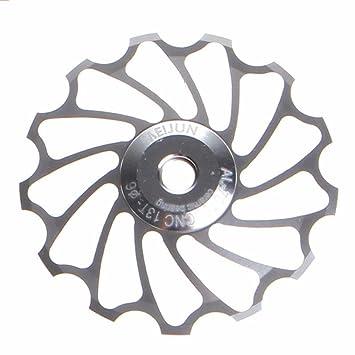 Y56 aleación de aluminio rueda Jockey cambio trasero polea guía rodillo de cojinete de cerámica correa