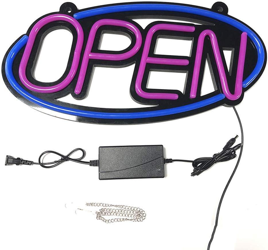 Open Leuchtreklame LED Leucht-Schild Neonlicht Lichtwerbung F/üR Werbung Ge/öFfnet Leuchtschild Beleuchtung F/üR Schlafzimmer Bar Pub Hotel Caf/é Restaurant