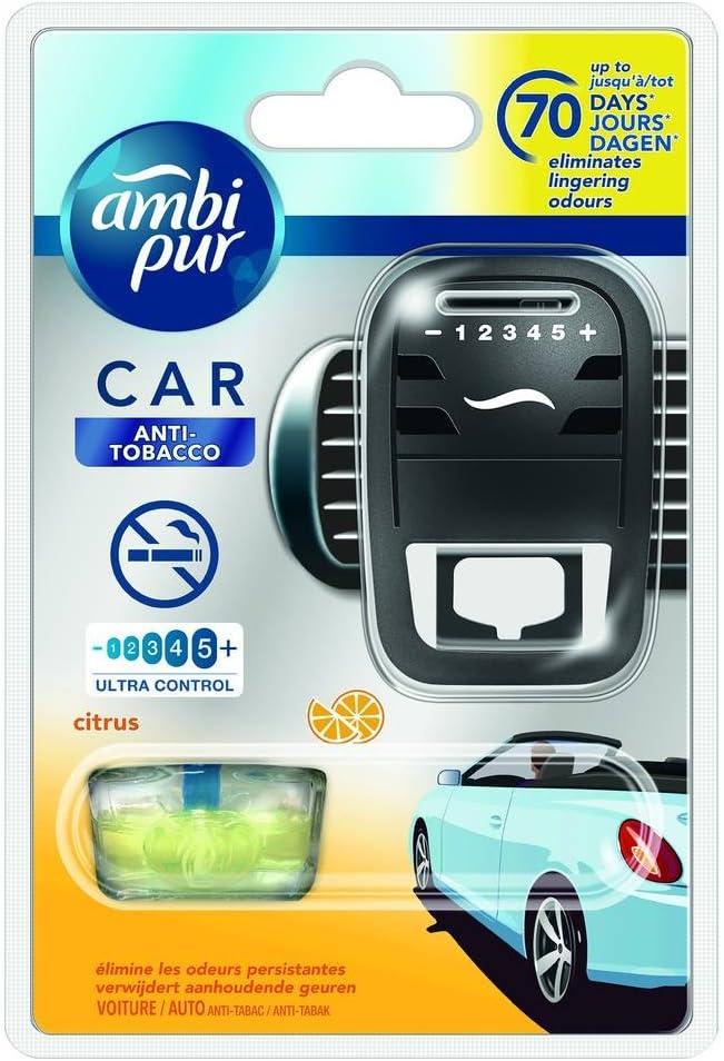 Ambi Pur 1710680 12 V//24 V Lufterfrischer mit Nachf/ülling Tobacco