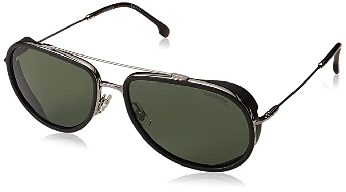 f346f47eaaae Amazon.com: Carrera 166/s Polarized Aviator Sunglasses, Ruthenium ...