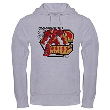 8c73c7be CafePress Hulkbuster Chart Pullover Hoodie, Classic & Comfortable Hooded  Sweatshirt Heather Grey