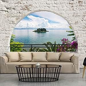 Murando fotomural abstraccion 400x280 cm papel tejido no tejido papel pintado paisajes - Papel pintado paisajes ...