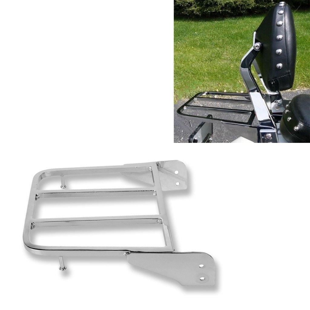 Motorcycle Solo Seat Sissy Bar Rear Luggage Rack For Suzuki Intruder//Volusia VL800 2001-2011 Boulevard M50 2005-2009 C50 2005-2011