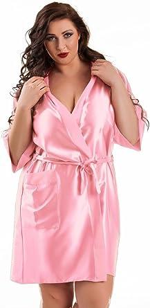 Nine X Satin Dressing Gown Kimono Plus Size 8 10 12 14 16 18 20 22 24
