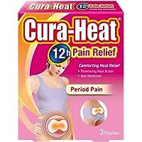 Cura Heat Period Pain - 3-Pack