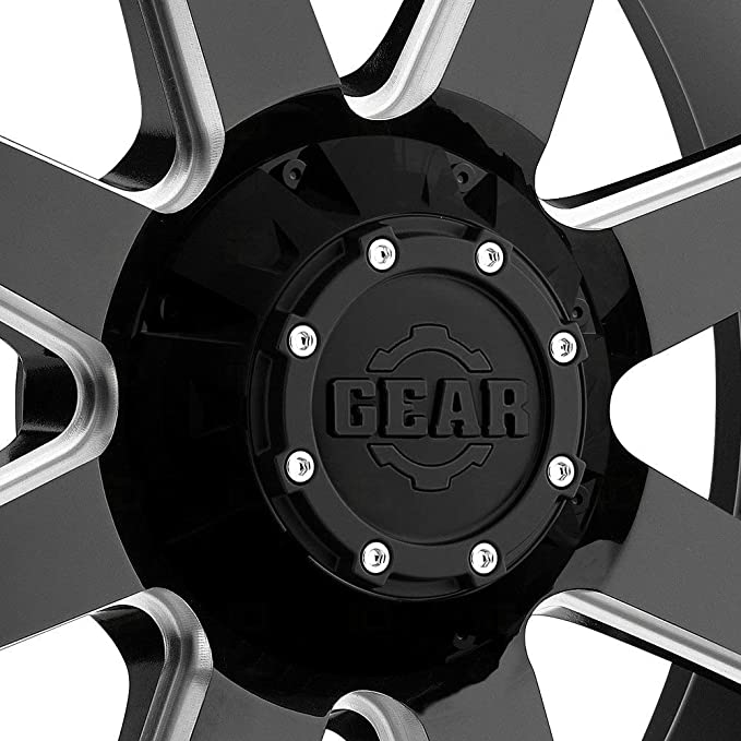 Gear Alloy 726MB BIG BLOCK Wheel with Milled Finish 20x9//5x5.5, 0mm Offset