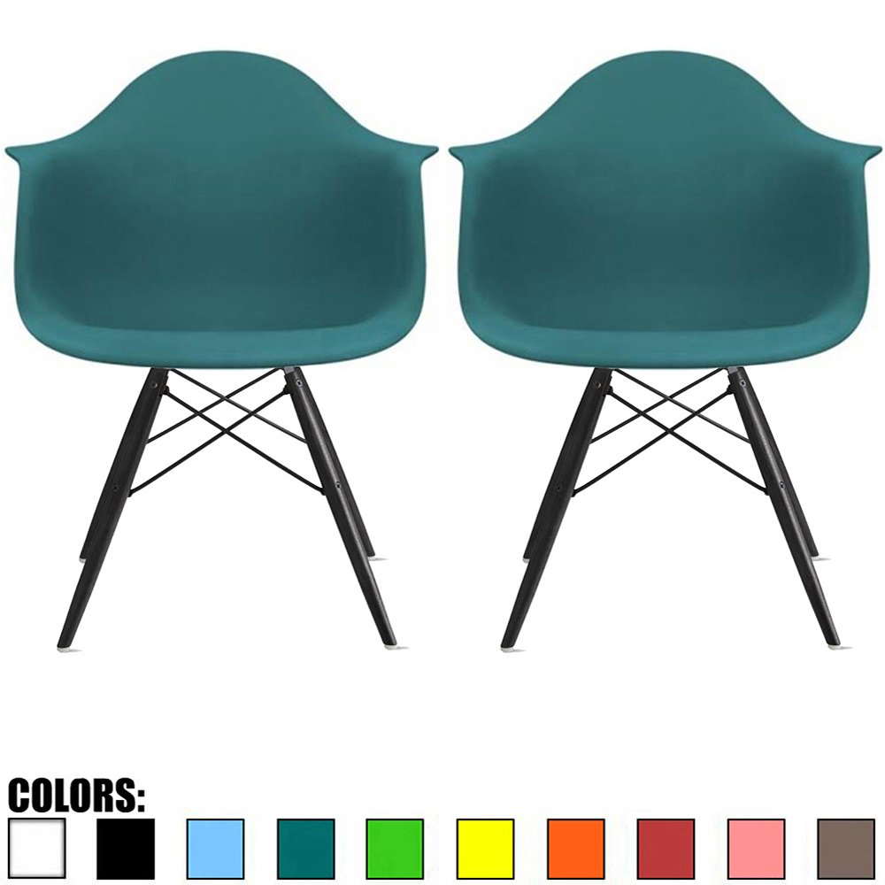 Teal Modern Office Chair: Amazon.com