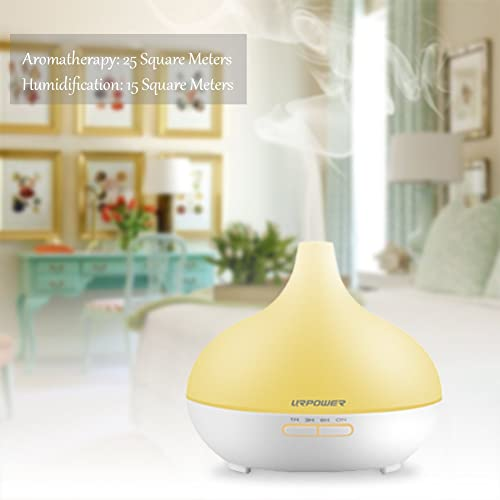 URPOWER 300ml 7 Color Changing Essential Oil Diffuser