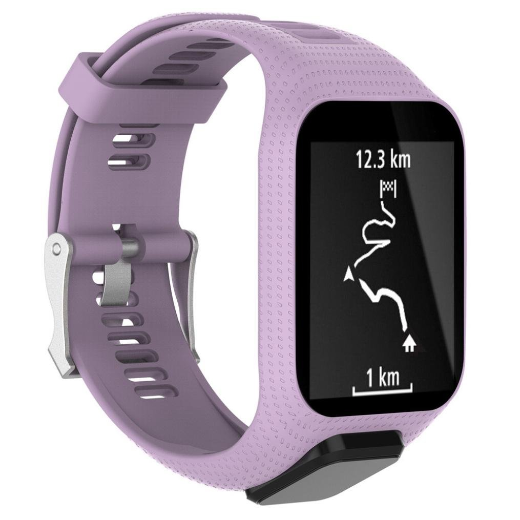 Memela(TM Replacement Silicone Band Strap for Tomtom Spark / 3 Sport GPS Watch
