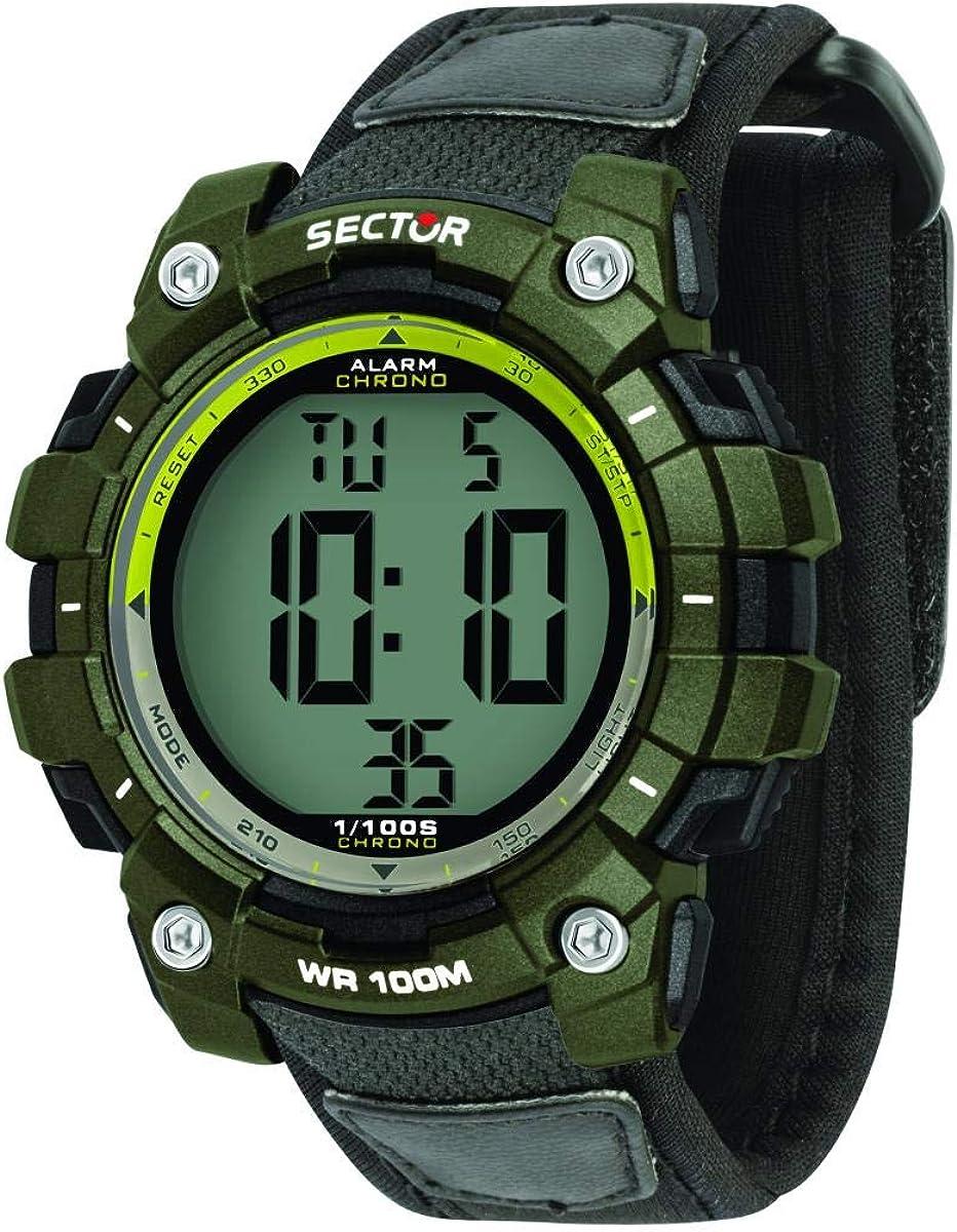 Sector No Limits Reloj Hombre de Digital con Correa en Nailon R3251520003