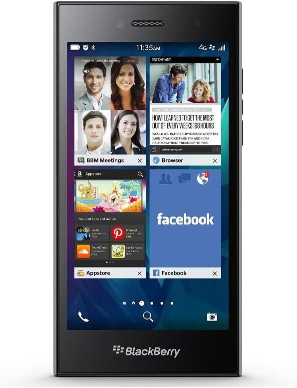 BlackBerry Leap 16GB Factory Unlocked GSM 4G LTE Smartphone - Shadow Grey