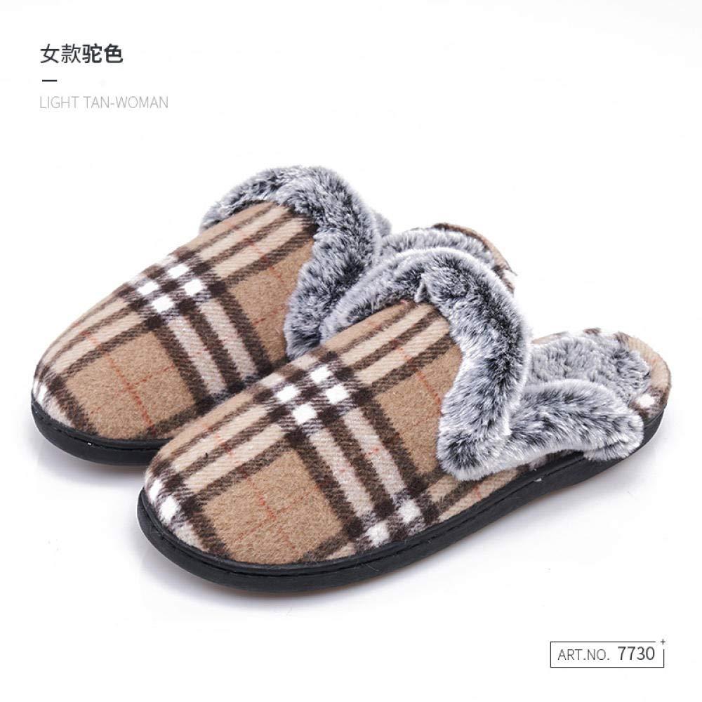 Feltro Impermeabile Caldo Inverno Scarpe,Pantofole di cotone