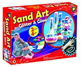 glow in the dark can holder - AMAV Sand Art Glitter and Glow Activity Kit - DIY Make Your Own Beautiful Colorful Sand Art in Bottle