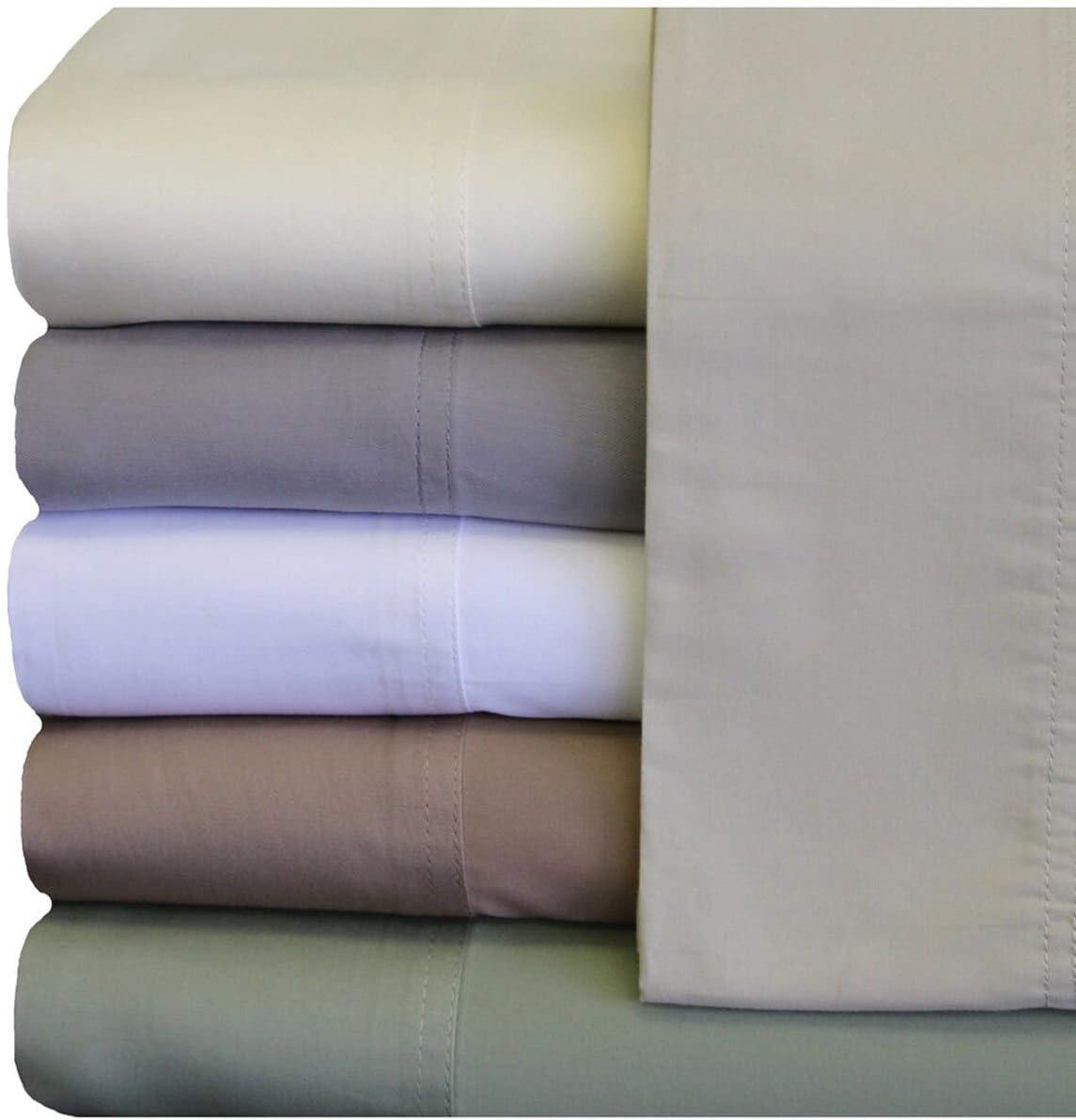Royal Hotel Abripedic - funda de almohada de Tencel tejido suave y sedoso, naturalmente puro, 100 % tejido de lyocell Tencel