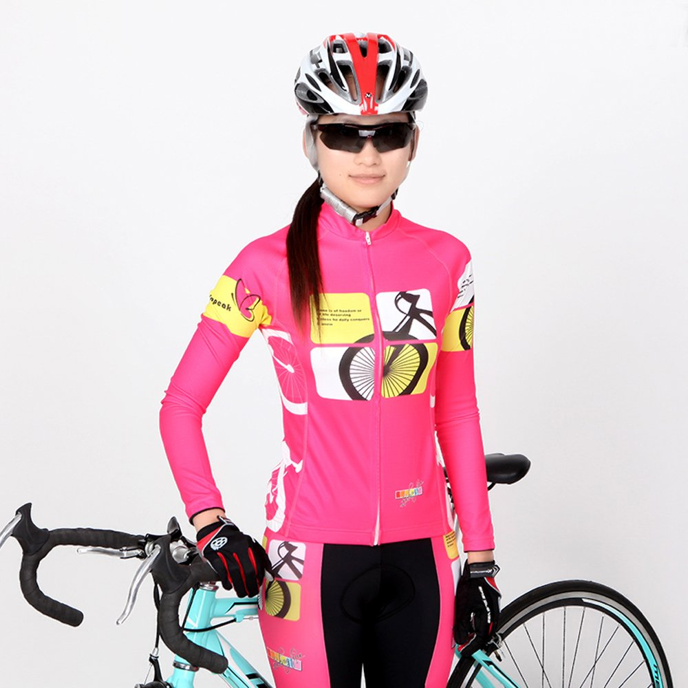 Uriah Womens Cycling Jersey Thermal Fleece Long Sleeve