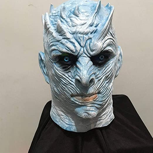QCHNES Máscara de Halloween Juego Ghost King Night King Mask ...