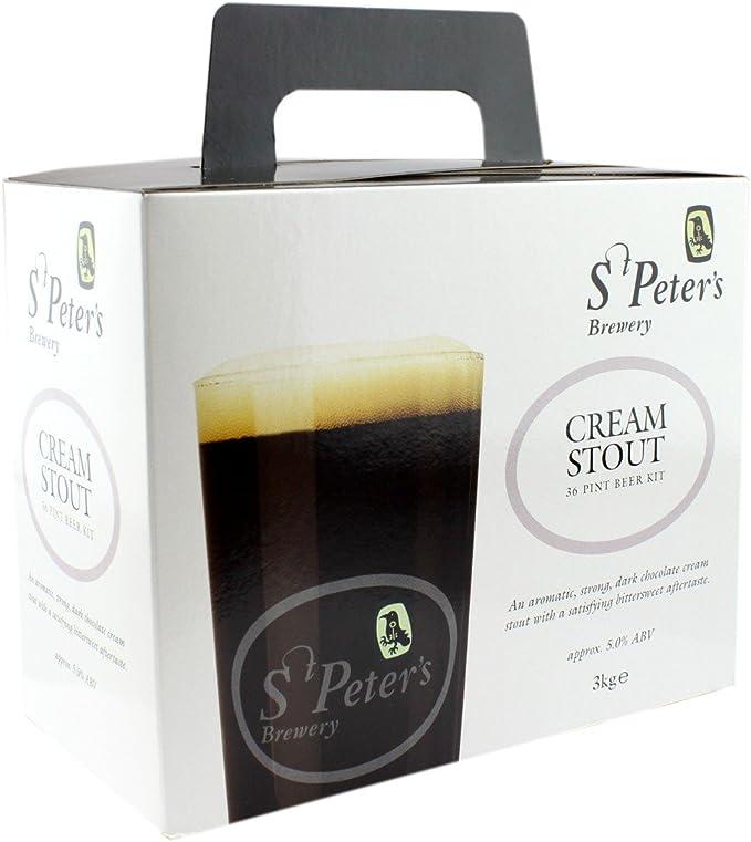 St Peters Brewery - kit para hacer cerveza negra cremosa: Amazon.es: Alimentación y bebidas