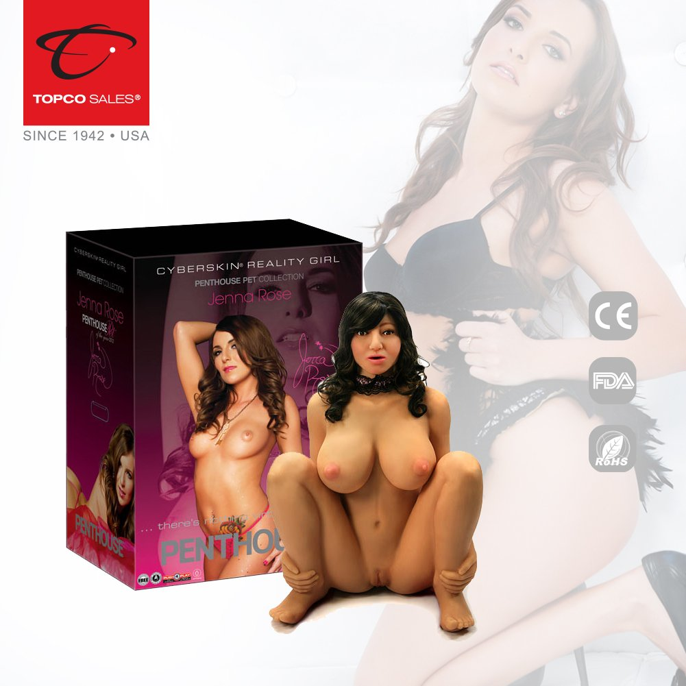 Penthouse Jenna Rose Cyberskin Reality Girl, 50 Pound
