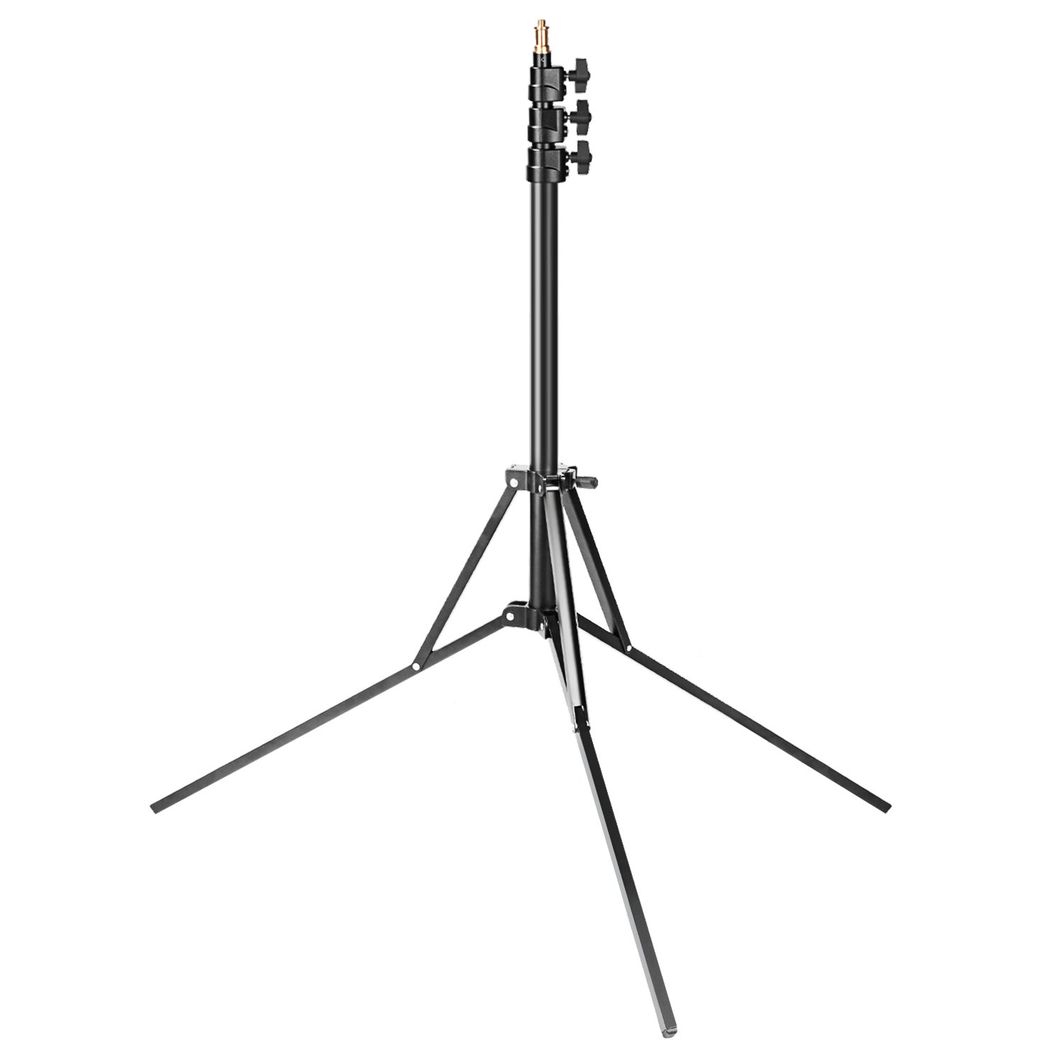 Neewer 6.9 feet Compact Portable Photography Light Stand, Reverse Folding Leg Stand for Ring Light, Softbox, Strobe Light, Reflector and Other Equipment, Heavy Duty Aluminum Alloy 10090792