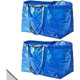 IKEA - FRAKTA Classic Blue Shopping Bag (X2)