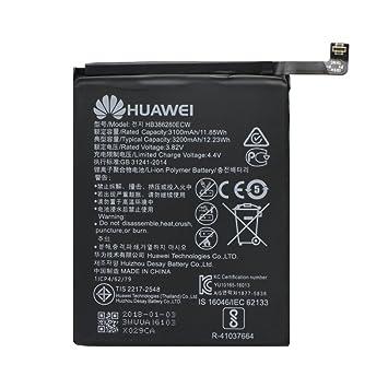 Akku Original Huawei hb386280ecw f/ür Huawei P10-3200 mAh Bulk