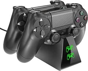 Carregador de Controle PS4 DualShock USB Estação de Carregamento Dock PlayStation 4
