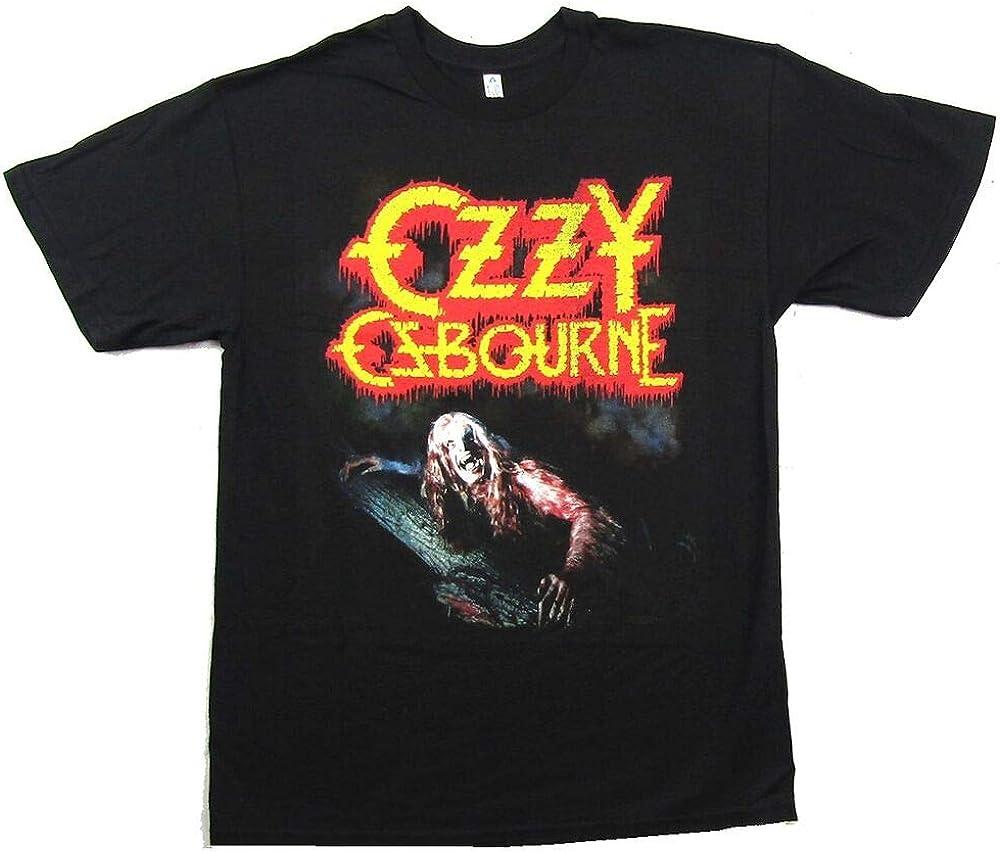 OZZY Osbourne Bark At The Moon Black T Shirt New Merch