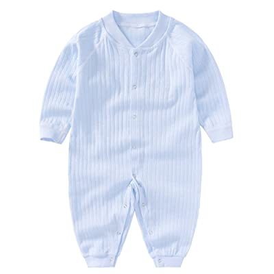 06bc345a1d99 DRAPERSKI Baby Rompers Sloth Lying On Tree Boys Girls Infant Short ...
