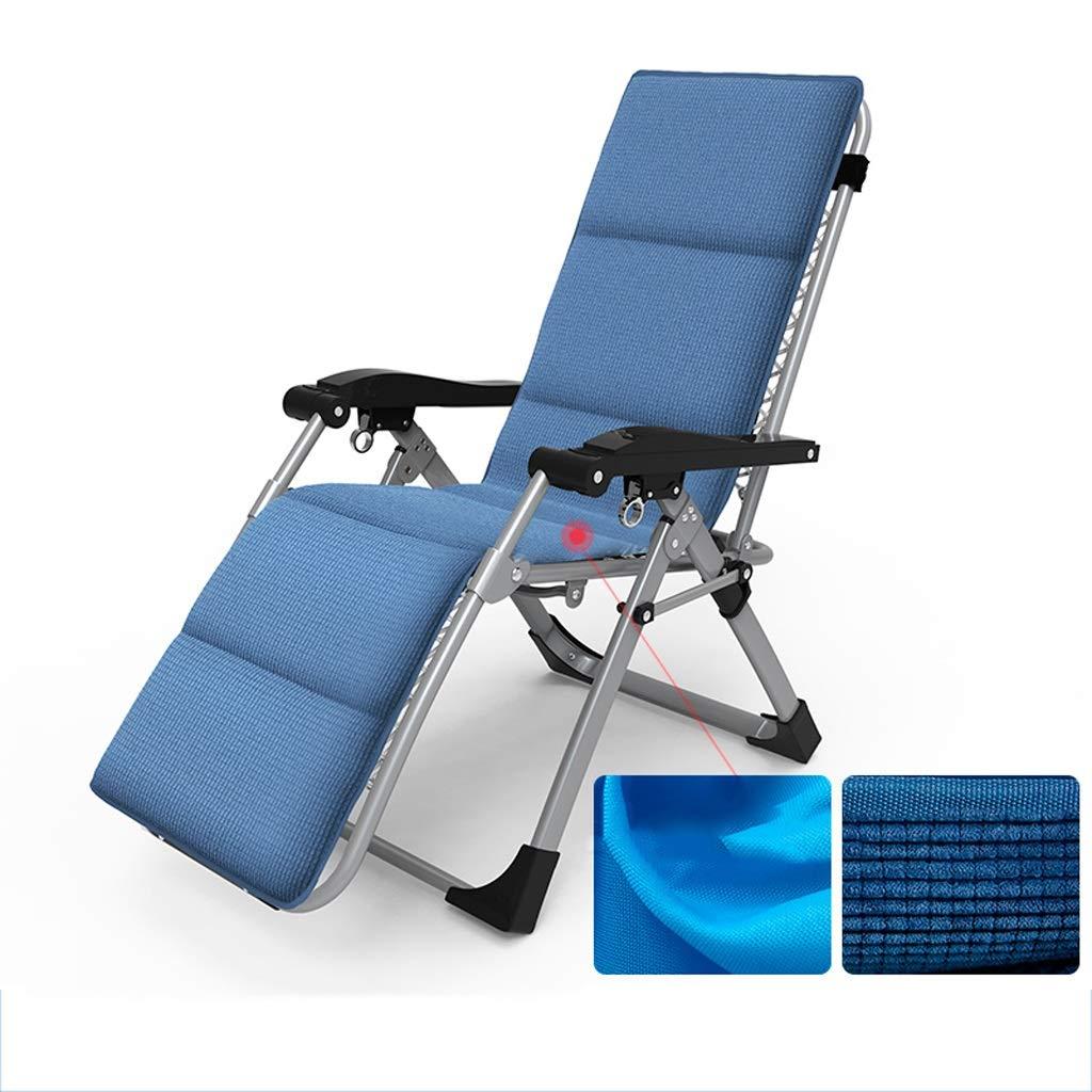 多機能リクライニングチェア折りたたみシングルシエスタチェアバルコニーホームレジャーチェア古い太陽の椅子リクライニングポータブル屋外用チェア (Color : B) B07SH3HYVS B