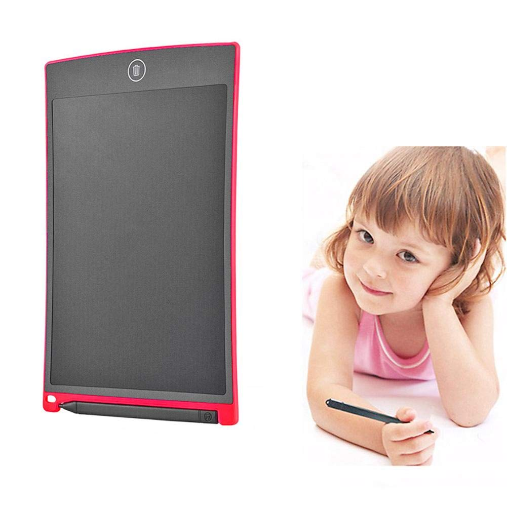 LCD Writing Tablet Rose Red Alloet 8.5inch Digital LCD Writing Tablet Drawing Handwriting Pad Board
