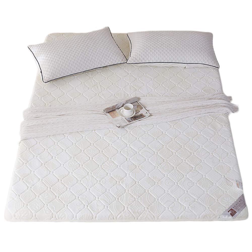 A 90x200cm H 5cm Breathable Knitted Fabric Mattress, Rolled Memory Foam Mattress Comfort Ergonomic Design-B 100x200cm H 5cm