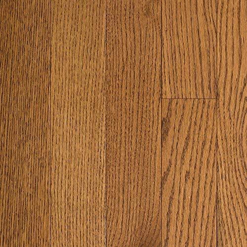Blue Ridge Hardwood Flooring Oak Honey Wheat 3/4 in. Thick x 2-1/4 in. Wide x Random Length Solid Hardwood Flooring (18 (Oak Honey Hardwood Flooring)